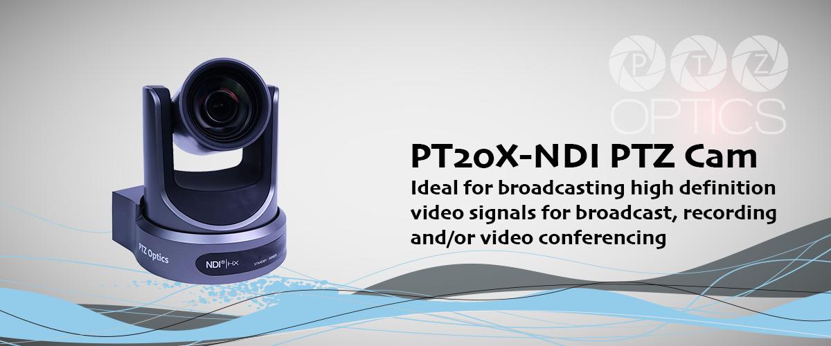 PTZ-Optics PT20X-NDI PTZ Camera