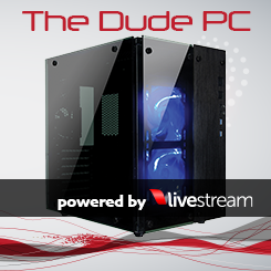 The Dude PC Blue for <I>Livestream</I>
