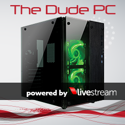 The Dude PC Green for <I>Livestream</I>