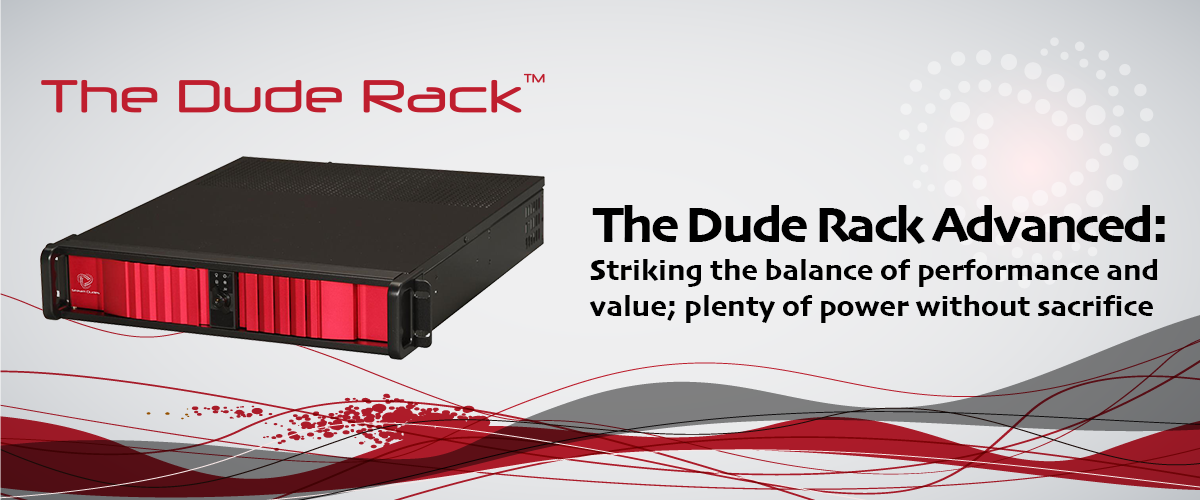 The Dude Rack Advanced: Professional Rack Mount Broadcast Switcher