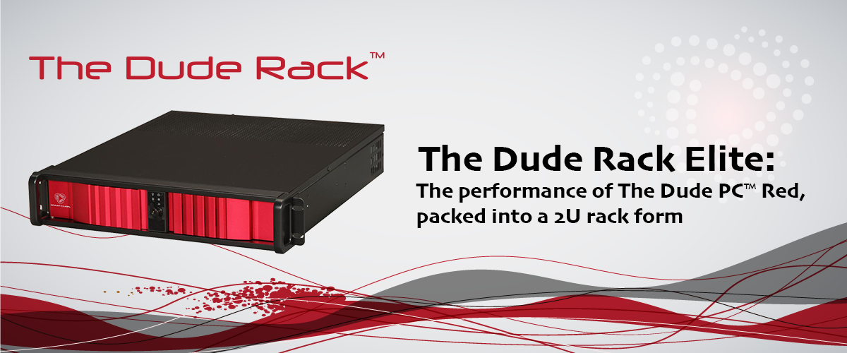 The Dude Rack Elite professional rack mount broadcast production switcher