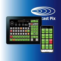Broadcast Pix iPixPanel and iPixPad