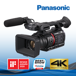 <b>Panasonic AG-CX350 4K Handheld Camera</b>