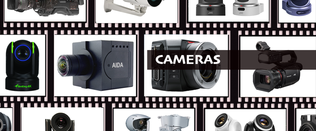 professional cameras for broadcasting and streaming
