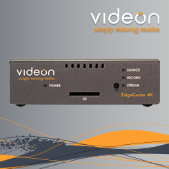 Videon EdgeCaster Low Latency Encoder