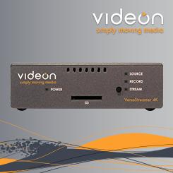<b>Videon VersaStreamer Series of Encoders</b>