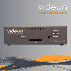 Videon VersaStreamer 4K Encoder/Decoder