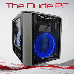 The Dude PC Blue