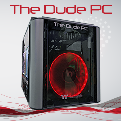 Dude PC Red