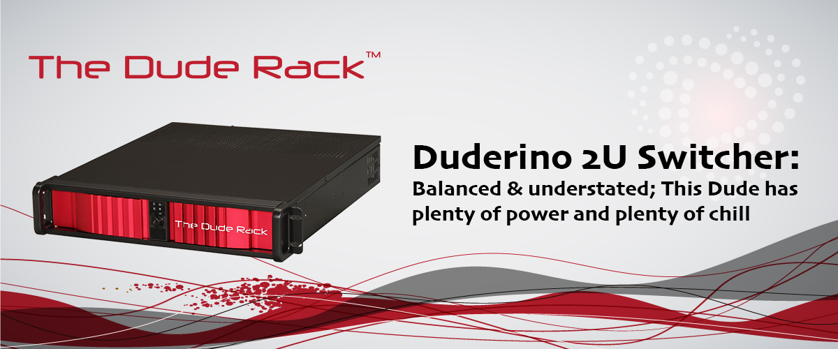 The Duderino 2U Dude Rack by Stream Dudes