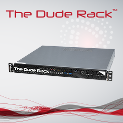 Donnie 1U Dude Rack Production Switcher